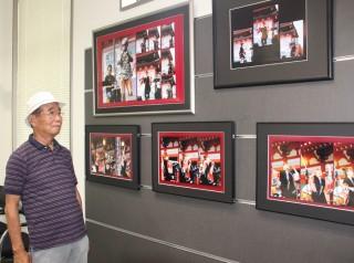 たかい・あいさんを撮影した写真と八木田さん