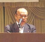体験発表する後藤委員長