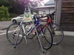 道の駅・伊勢本街道御杖のスポーツ自転車用の駐輪設備