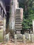 国津神社の十三重塔