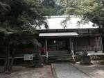 「波氐神社」の社殿