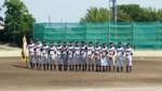 県大会優勝を祝う中学部のメンバー