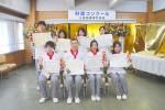 入賞した8人の三重調理の学生さん(前列右から2人目が齋藤さん)