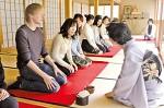 四天王寺の禅茶会で