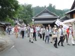 趣のある伊勢本街道奥津宿で行われた散策ツアー