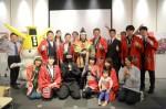 中伊勢温泉郷観光推進協議会のメンバーら(2014年、東京・日本橋の三重テラスで)