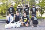 お城西公園で…SHNCの会員たち