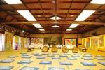 折り上げや網代天井など大正から昭和のデザインを残す大広間