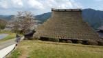 国登録有形文化財「田中家住宅主屋」と三多気の桜による豊かな山村景