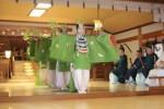 胡蝶の舞の奉奏