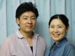 堤潤也さんと三佳子さん夫妻