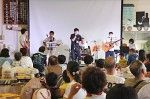 たつみずフェスタで、盛り上がった長谷山バンドのステージ
