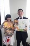 バルをPRする増田さん(右)と今年度津クイーンの井本さん