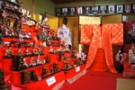 2015年の「榊原温泉のお雛さま」会場の展示