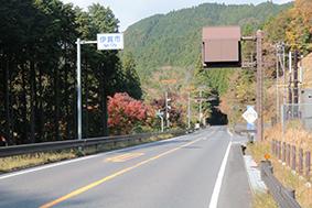 新長野トンネルを抜け、伊賀市へ