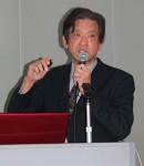 講演する山澤さん