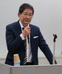 講演する矢野さん