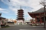 津観音の五重塔