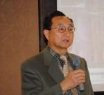講演する志田会長
