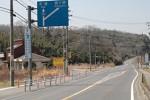 伊賀市島ヶ原三軒茶屋の交差点