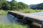 木津川にかかる大河原橋(恋路橋)