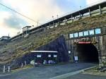 月ヶ瀬駅口の旧トンネル