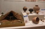 松阪市内で出土した実物資料や、模型などを展示している「大昔のくらし」