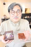 オオイチョウタケを使った生チョコと、伊藤さん