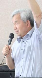 講演会講師の浅生悦生さん