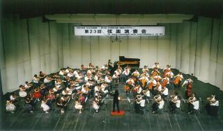 前回の弦楽演奏会の様子