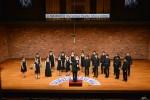 宝塚国際室内合唱コンクールで歌声を披露する《EST》選抜メンバー