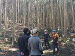 Inaka Tourism推進協議会が提供する林業体験の様子
