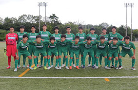 三重県サッカーリーグで1部リーグ昇格を決めた「ヴェルデラッソ松阪 U─15チーム」