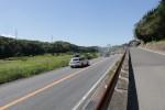 国道163号と並走する道路を歩く(精華町柘榴付近)