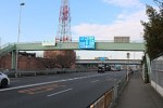 国道163号沿いの風景(四條畷市蔀屋)