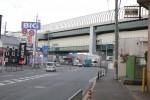 国道163号をまたぐ第二京阪道路