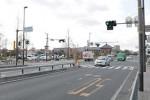 花博記念公園鶴見緑地付近の守口市と大阪市の市境