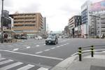 国道163号と国道1号の合流地点(大阪市城東区)