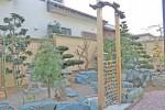 完成した日本庭園