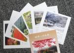 伊勢奥津駅周辺のイベントで名松線での来場者に プレゼントされる卓上カレンダー(サンプル)