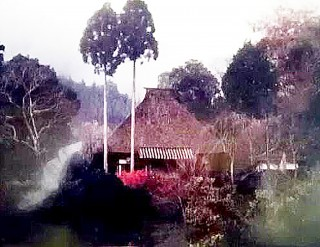 火災で焼失する前の天益寺本堂