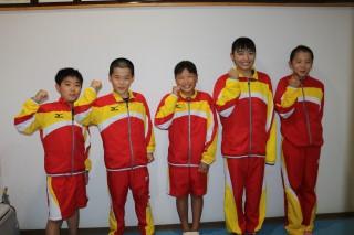 左から堀内さん、坂倉さん、奥田さん、富田さん、池田さん