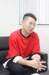 発達障害当事者・今井貴裕さん 鈴鹿市出身、37歳。津市などで若い世代の発達障害当事者やその保護者を支援している。東京農業大学在学中によさこいを始め、現在よさこいの衣装を制作するショップを経営。
