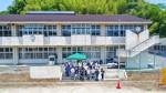 BBQの会場となる旧長野小学校