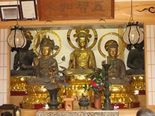 平安・鎌倉・江戸時代の優作、平楽寺の五智如来