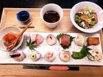 国産魚の美味しさを堪能できる「手毬寿司ランチ」