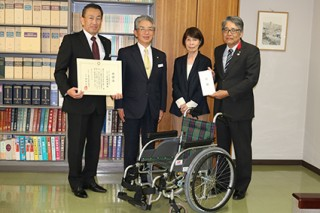 左から井上さん、大河内さん、松坂さん、松本さん