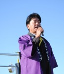 挨拶する杉田会長