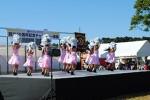 ステージでは様々な団体やグループがダンスなどを披露