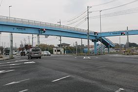 国道165号と国道23号中勢バイパスの交差点